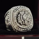 2015 Chicago Blackhawks NHL Hockey Stanely Cup Championship Ring 7-15 Size Copper Engraved Inside