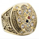 2008 Pittsburgh Steelers super bowl champion ring 8-14 Size Christmas gift