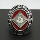 1964 St Louis Cardinals MLB World Series Championship Alloy Ring 11 Size 'Gibson' Fans Gift