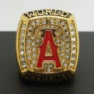 2002 Anaheim Angels MLB World Series Championship Alloy Ring 11 Size For 'Glaus' Fans Gift