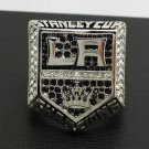 Solid Back 2014 Los Angeles Kings Stanley Cup Championship Ring NHL Hockey Ring 11 Size