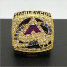 2001 Colorado Avalanche Stanley Cup Championship Ring NHL Hockey Ring Sakic 11 Size Gift Collection