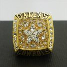 1995 Dallas Cowboys Football Super Bowl World Championship Ring 11Size 'Aikman' Fans Solid Back