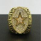 1992 Dallas Cowboys Football Super Bowl World Championship Ring 11Size 'Aikman' Fans  Back Gift