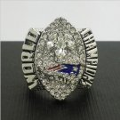 NFL 2004 New England Patriots Football Super Bowl World Championship Ring 11Size '