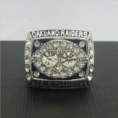 1980 Oakland Raiders Football Super Bowl World Championship Ring 11Size Fans Best Solid Back