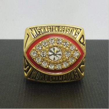 1987 Washington Redskins Football Super Bowl World Championship Ring 11Size 'Riggins' Fans Gift
