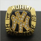 1996 New York MLB Yankees World Series Championship Alloy Ring 11 Size For 'Jeter' Fans Gift
