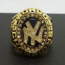 1998 New York MLB Yankees World Series Championship Alloy Ring 11 Size For 'Jeter' Fans Gift