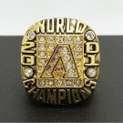 2001 Arizona Diamondbacks MLB World Series Championship Alloy Ring 11 Size For 'Colangeld' Fans Gift