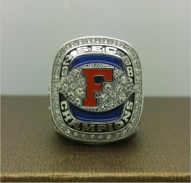 2008 FLORIDA GATORS SEC National College Championship Ring 8  Size For TEBOW  Copper Ring