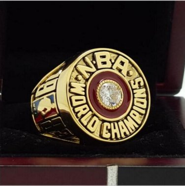 1983 Philadelphia 76ers Basketball Championship ring replica size 8  to The gift of the fans
