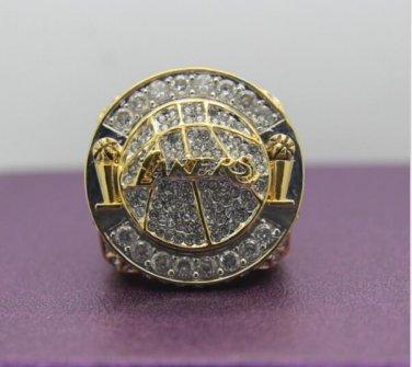 2010 Los Angeles Lakers basketball world championship Ring 14 S copper ingraved inside for KOBE