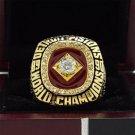 1990 Detroit Pistons Basketball world championship ring 8-14S copper solid back ingraved inside