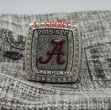 2015-2016 in Alabama crimson championship ring 7 to 15 us solid... SEC champion