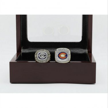 1985 And 2006 Chicago Bears Super Bowl Football Championship Ring Nice Gift For fan Size 11