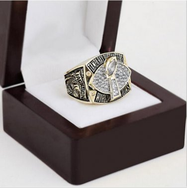2002 Tampa Bay Buccaneers Super Bowl Football Championship Ring Size 10-13