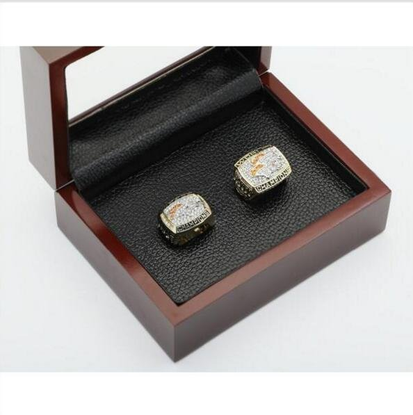 1997 1998 Denver Broncos NFL Super Bowl FOOTBALL Championship Ring 10-13 size