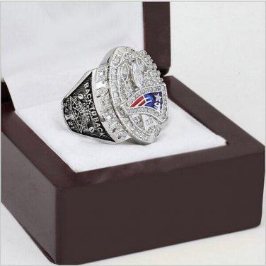 2004 New England patriots XXXIX Super Bowl Football Championship Ring Size 11