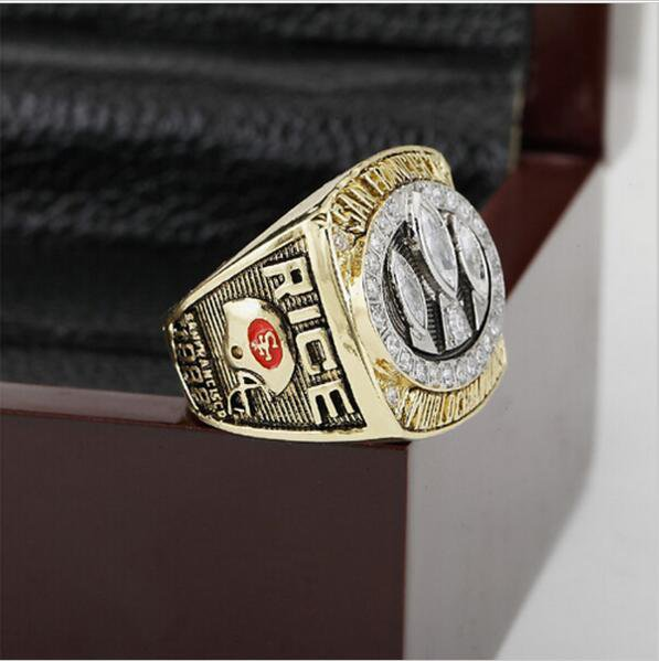 1988 San Francisco 49ers Super Bowl Football Championship Ring Size 13