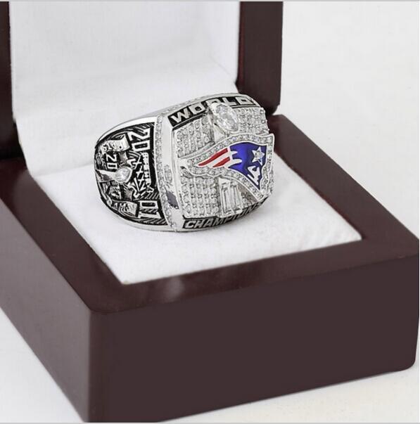 2001 New England Patriots XXXVI Super Bowl Football Championship Ring Size 10