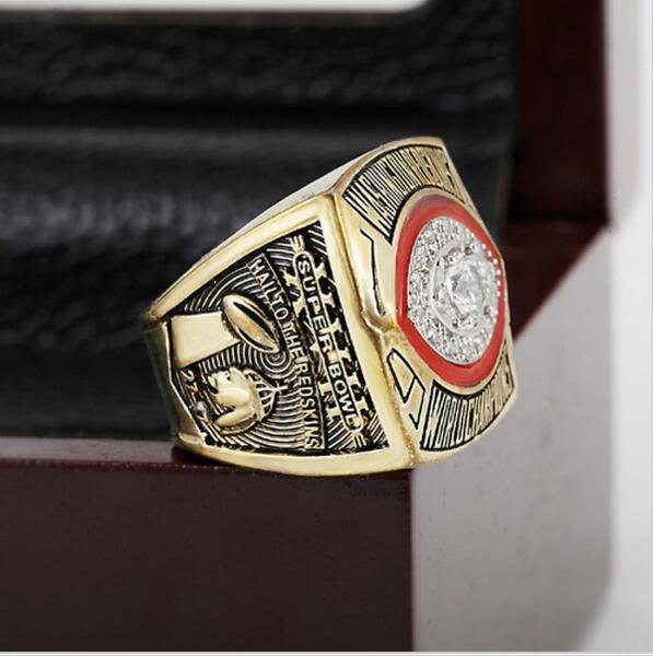 1982 NFL Washington Redskins  Super Bowl  Championship Ring Size 13 With High Quality Wooden Box