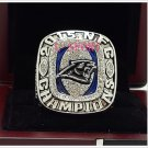 2015 Carolina Panthers NFC FOOTBALL Championship Ring 12 Size COPPER SOLID Engraved Inside