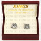 2012 2014 Los Angeles Kings Stanley Cup Championship Ring With Wooden Box Replica Rings LUKENI