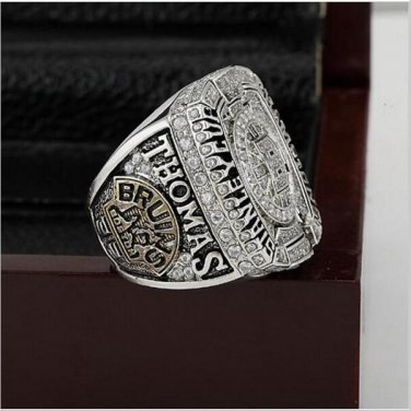 2011 NHL Boston Bruins Hockey Stanley Cup Championship Ring Size10-13 With High Quality Wooden Box