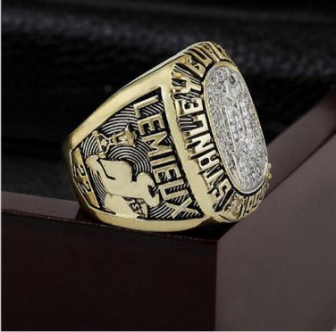 1995 NHL New Jersey Devils Stanley Cup Championship Ring With High Quality Wooden Box