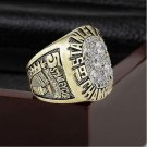 NHL 1990 EO Stanley Cup Championship Ring Size 10-13 With High Quality Wooden Box Fans Best Gift