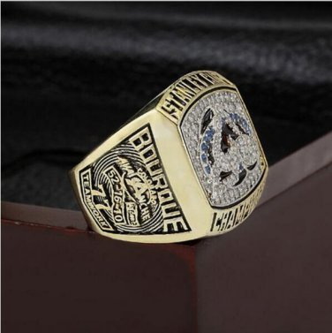 2001 NHL Colorado Avalanche Stanley Cup Championship Ring Size 10-13 With High Quality Wooden Box