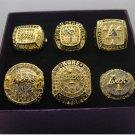 6PCS 2000 2001 2002 2009 2010 2016 Los Angeles Lakers Basketball Championship rings 10 US