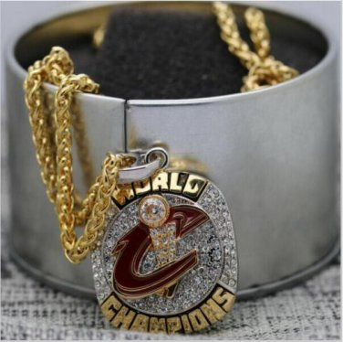 2016 Cleveland Cavaliers National Basketball Championship Necklace Copper Solid in stock