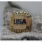 2016 RIO OLYMPIC Basketball Championship Ring for USA 7-15 Size Copper Solid Engraved Inside