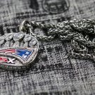 2016 2017 New England Patriots super bowl Championship Necklace NFL Necklace copper version
