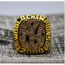 2000 New York Yankee MLB World Seires Championship Ring 7-15 Size Copper Solid Engraved Inside