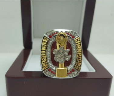 2016 Clemson Tigers NCAA National Championship Ring 11S solid in stock (Watson)
