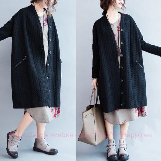 Women Fashion Loose Casual Coat