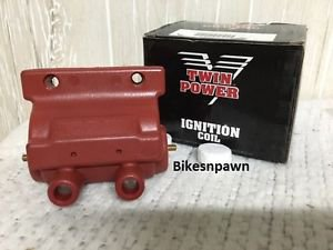 New Twin Power Ignition Coil 85-99 Big Twin; 85-03 Sportster 883 & 1200   210070