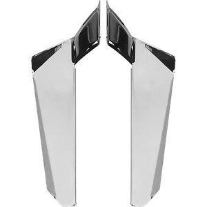 Chrome Lower Deflectors for Switchblade Windshield Kawasaki VN2000 04-09