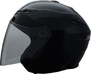 New Size XS Black GMax GM67 Open Face Helmet DOT Approved