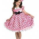 Size 4-6 DISNEY MINNIE MOUSE GLOW IN THE DARK COSTUME FOR CHILDREN  SWWHC802475