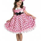 Size 7-8 DISNEY MINNIE MOUSE GLOW IN THE DARK COSTUME FOR CHILDREN  SWWHC802475