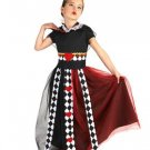 Size 8-10 QUEEN OF HEARTS COSTUME FOR CHILDREN  SWWHC811261