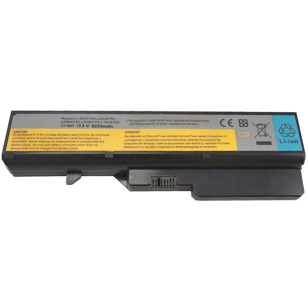 Battery for Lenovo IdeaPad G570 G560 G470 G460 V570 V470 V360 Z480 B570 L09S6Y02