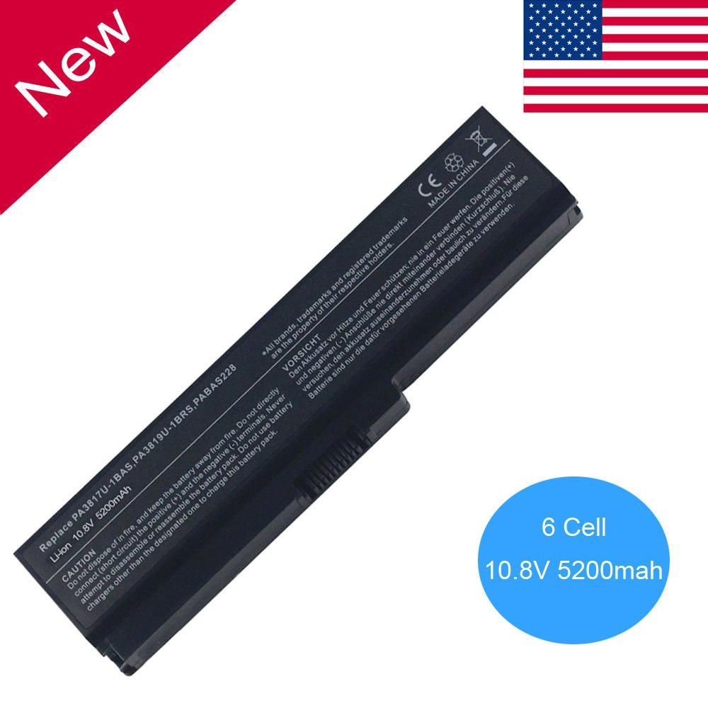 New Battery for Toshiba Satellite PA3817U-1BRS PA3818U-1BRS L655 C655 C650 L755