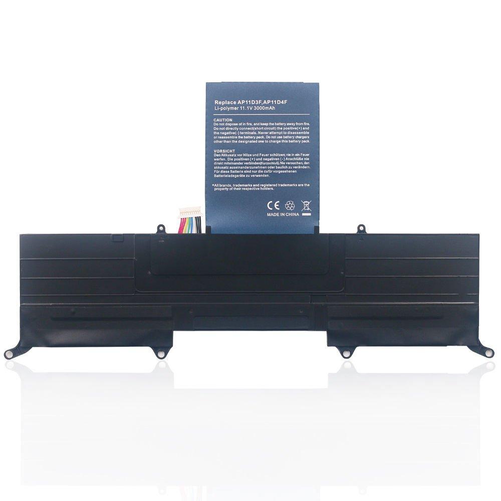 New Battery for Acer Aspire S3 ASS3 MS2346 Ultrabook AP11D3F AP11D4F KB1097 USA
