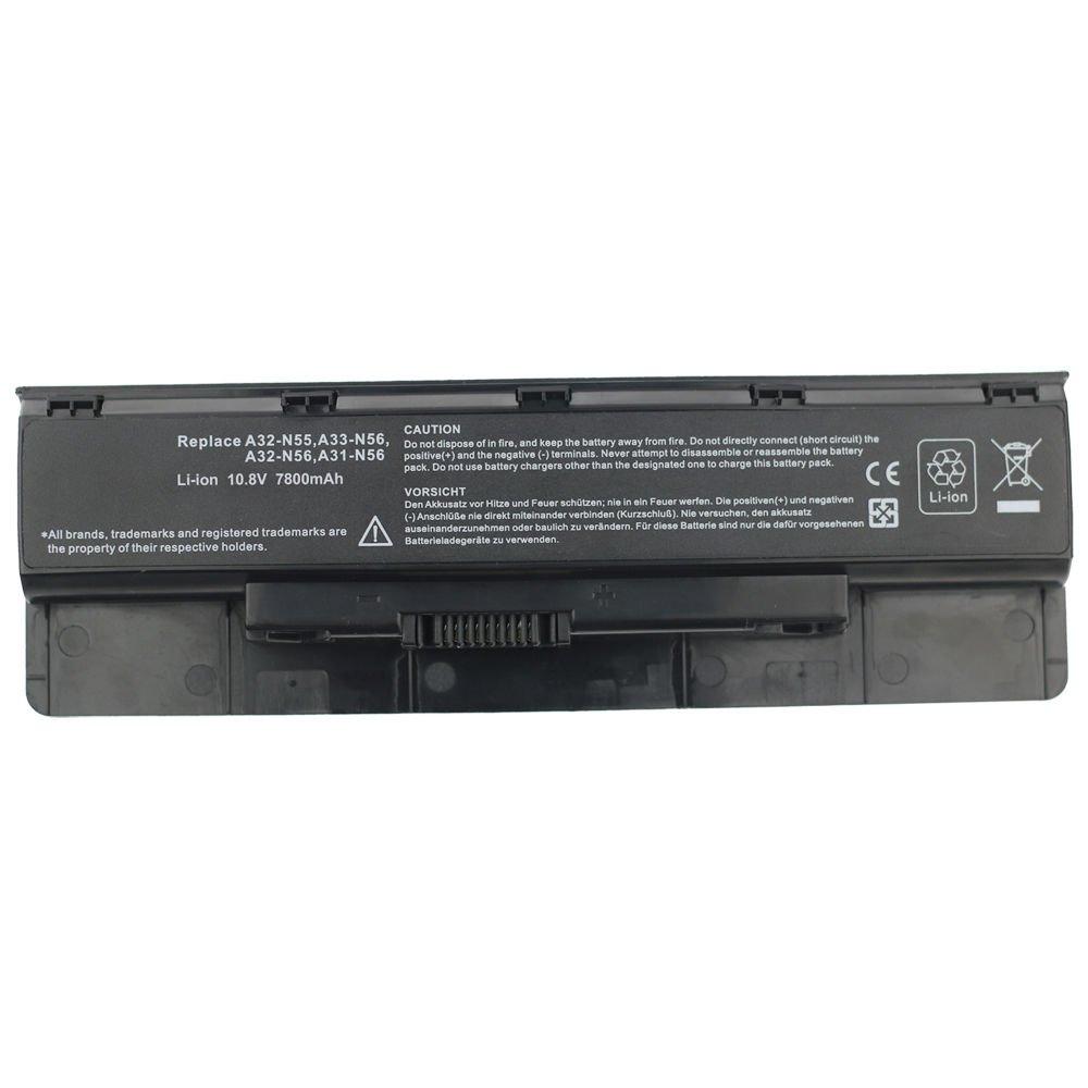9 Cell Battery for ASUS A32-N56 A31-N56 N76 N46 N46V N46VM N56 N56V N56VZ N56VM
