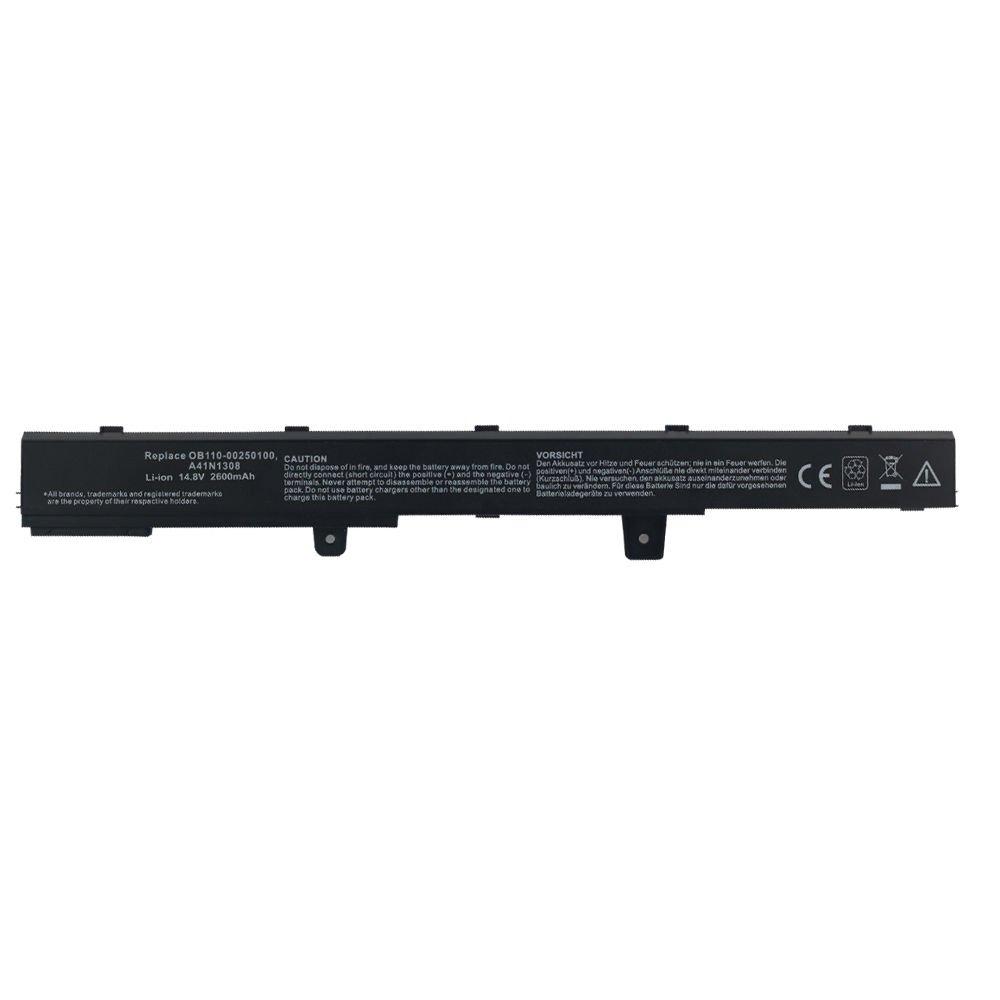 New Battery for Asus A31N1319 A41N1308 X551 X551C X551CA X451 X451C X451CA A41
